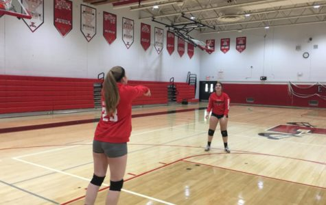 Freshman Joins Volleyball Team