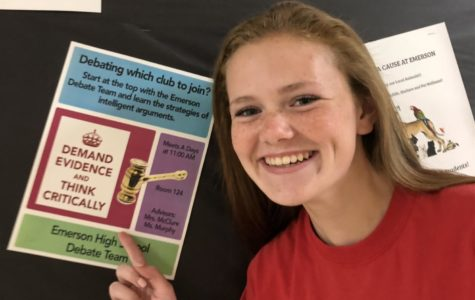For this EHS student, it's all about debate