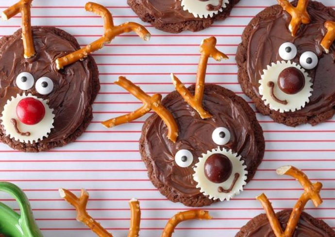 Christmas Reindeer Cookies The Cavalier