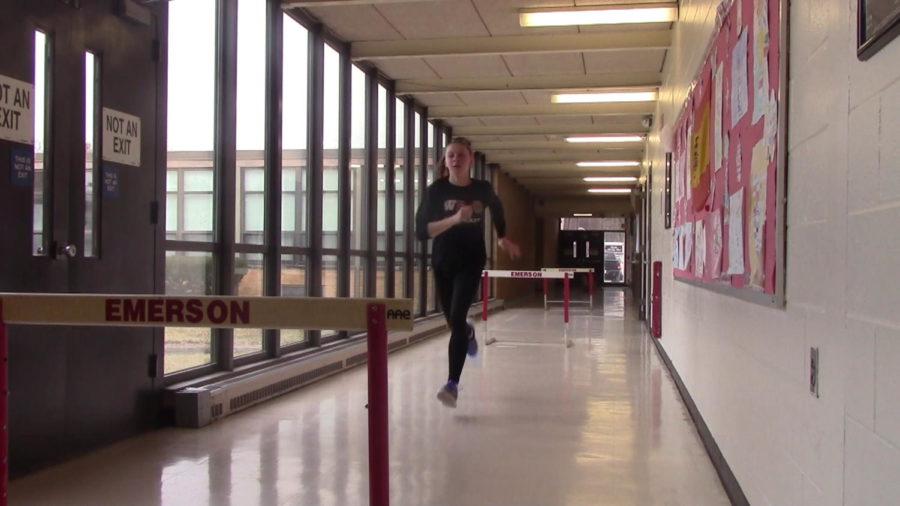 Winter track: the club running to be a sport