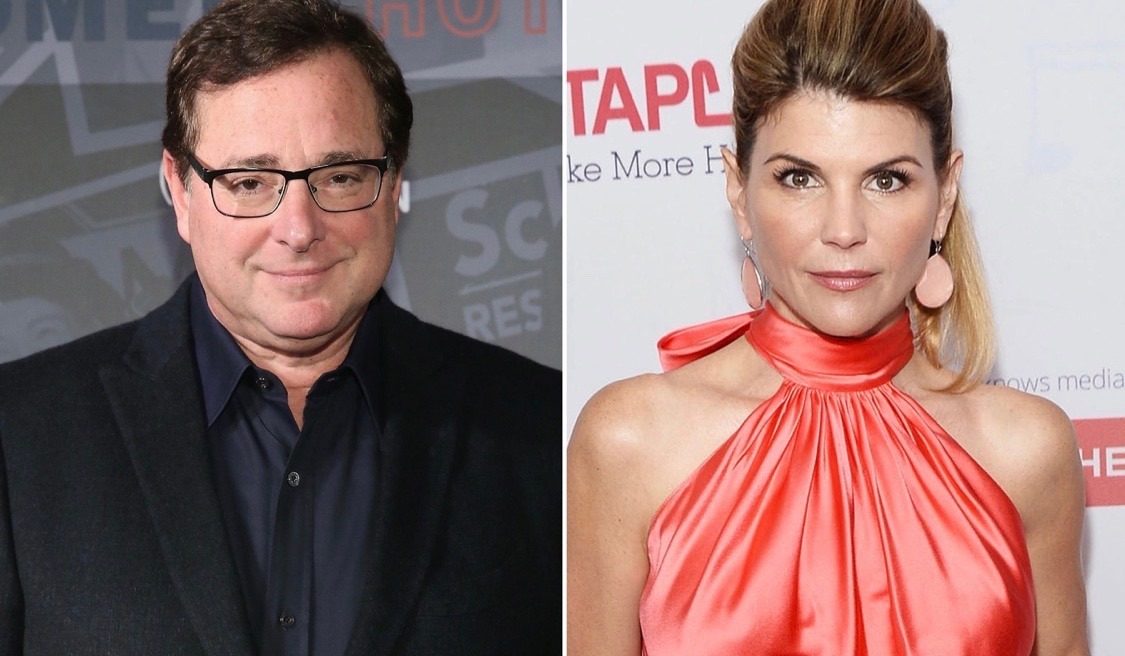 Bob Saget speaks about Loughlin allegations.