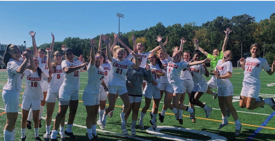 Celebrating after a big win!