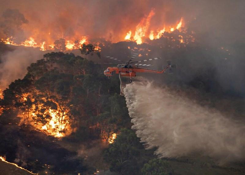 Wildfires Ravage Australia