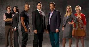 "The cast of ""Criminal Minds"""