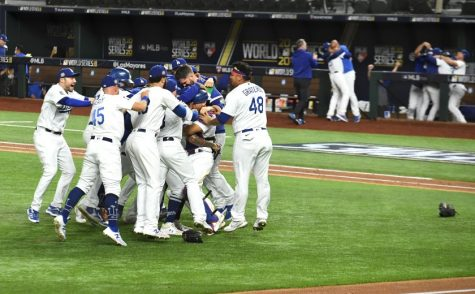 The Los Angeles Dodgers Wins World Series in a Six Game Battle Against the Tampa Bay Rays