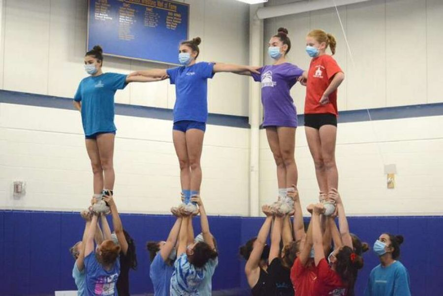Competition Cheerleading During COVID