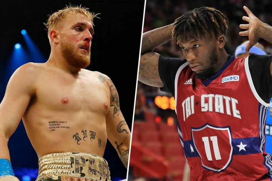 Youtuber Jake Paul Knocks Out Former NBA Player Nate Robinson in a Boxing Match.
