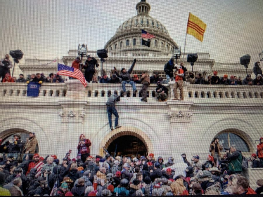 Rioters Take Over the Capitol Building