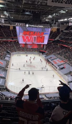 Experiencing a New Jersey Devils Game During a Pandemic
